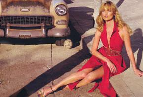 Donna Karan S-S 2008 Kate Moss by Mert Alas & Marcus Piggott